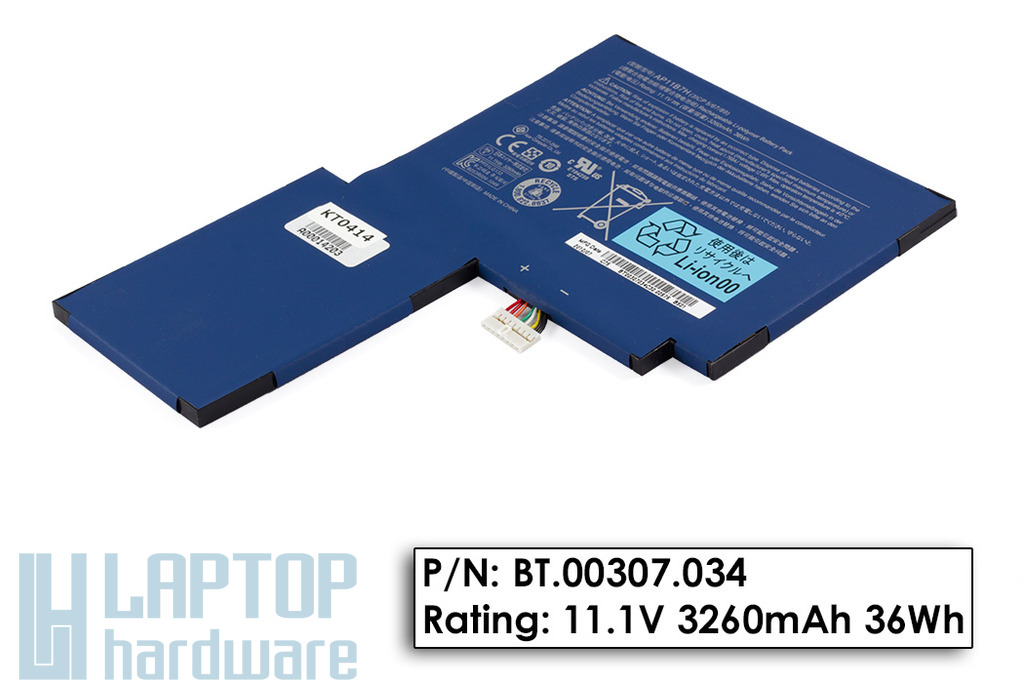 Acer Iconia Tab W501 gyári új akkumulátor, BT.00307.034