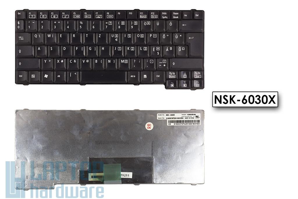 Acer Travelmate 230 használt magyar laptop billentyűzet (NSK-6030X)