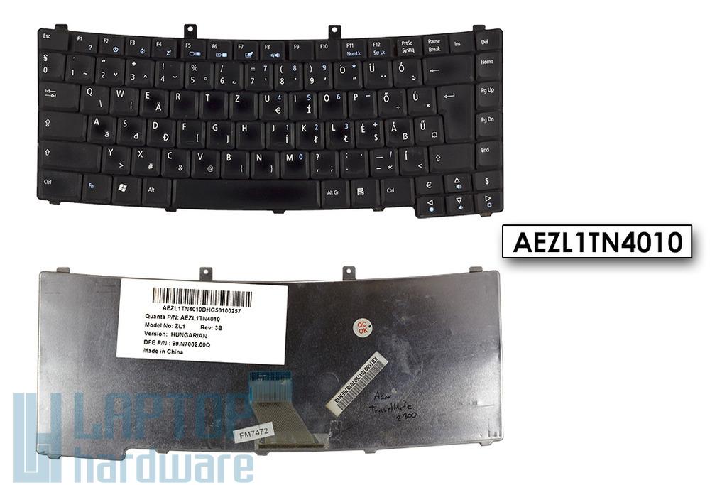 Acer Travelmate 2300, 2410, 4000 használt magyar notebook billentyűzet, AEZL1TN4010
