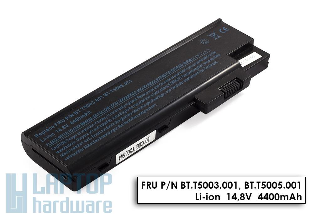Acer Travelmate 2300, 4000, 4500, 4600 használt 8 cellás 100%-os laptop akku/akkumulátor  CGR-B/423AE