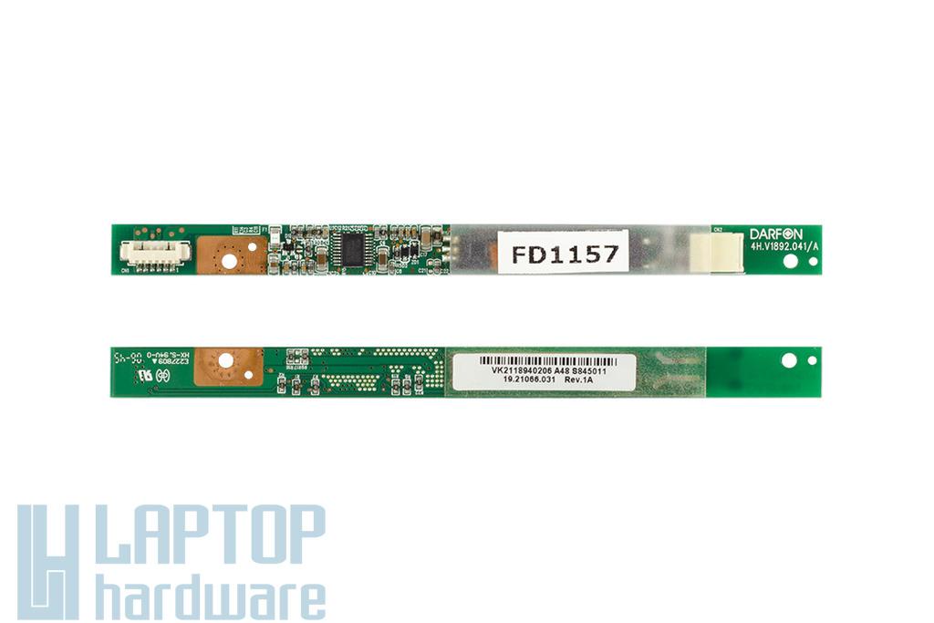 Acer TravelMate 2400, Fujitsu-Siemens Amilo Li1718 használt notebook LCD inverter (19.21066.031)