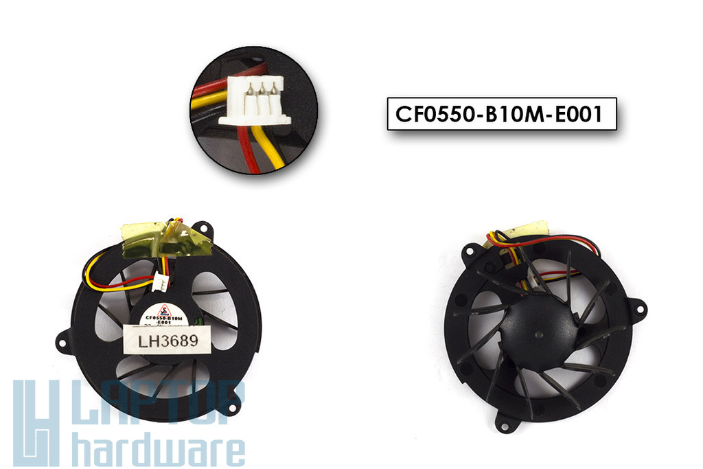 Acer Travelmate 420, 426, 426LC, 430, 433LC használt laptop hűtő ventilátor (CF0550-B10M-E001)