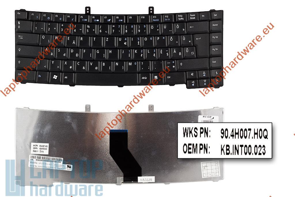 Acer TravelMate 4520, 4730, 5310 gyári új magyar laptop billentyűzet (90.4H007.H0Q)