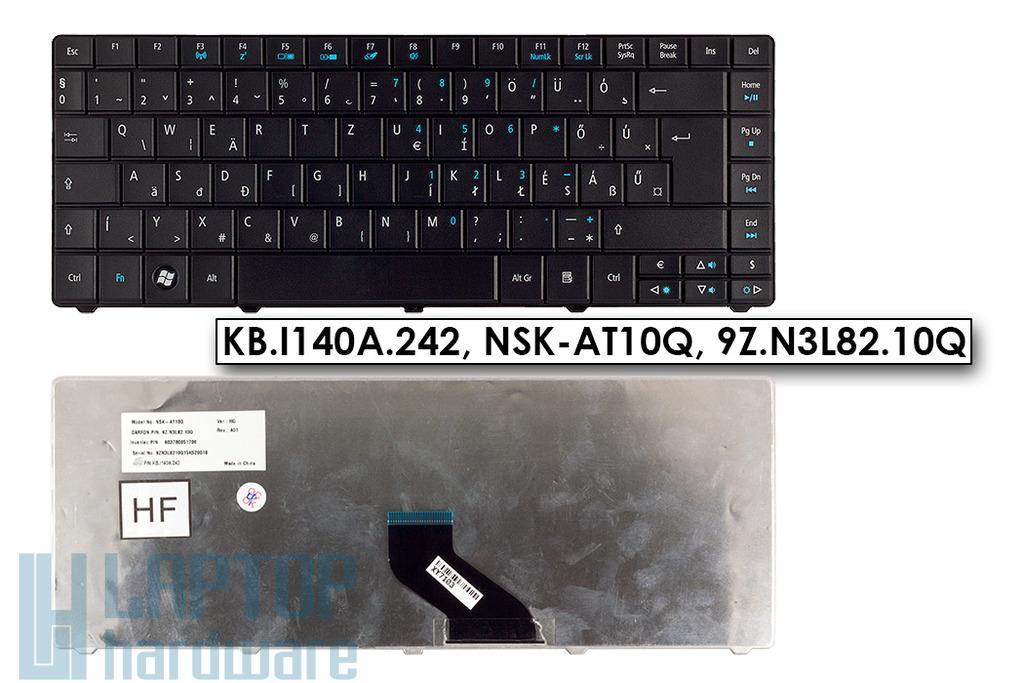 Acer Travelmate 4740G, 8372, 8472 gyári új magyar matt fekete laptop billentyűzet (KB.I140A.242)