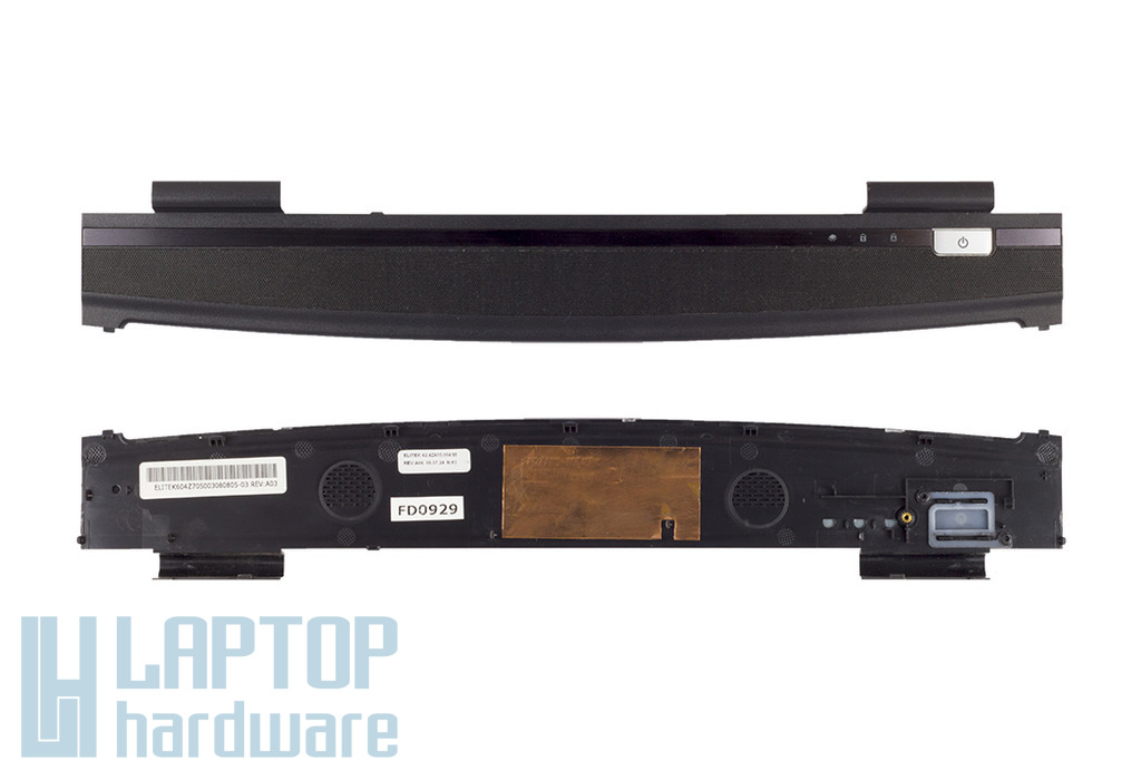Acer Travelmate 5530G laptophoz bekapcsoló panel fedél, power button panel cover, 42.4Z405.004