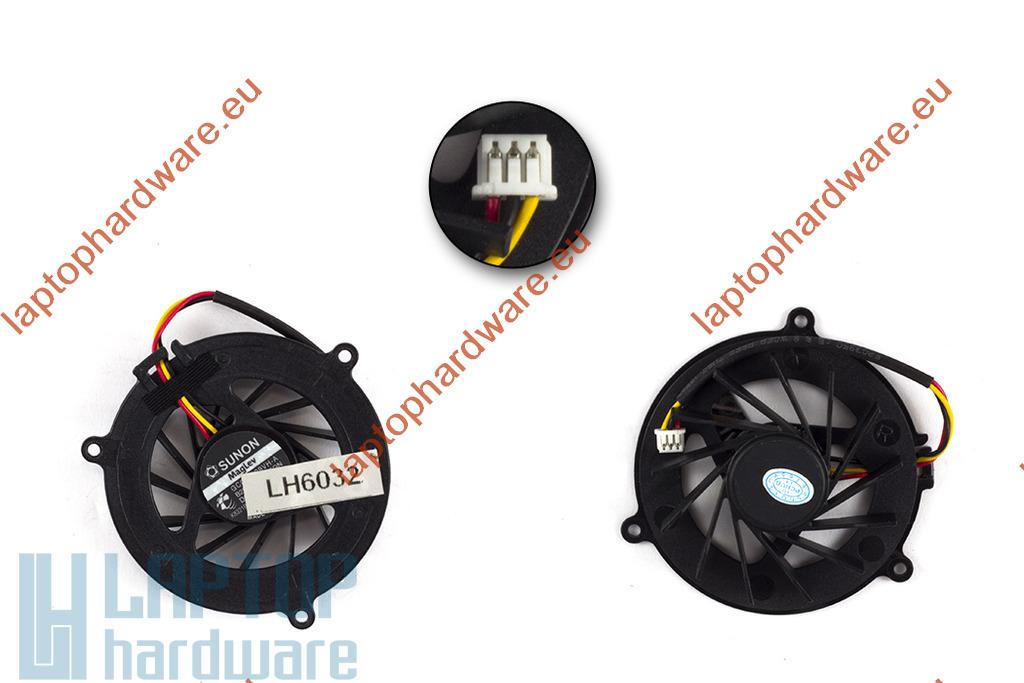 Acer Travelmate 6231, 6252, 6290, 6291, 6292 használt laptop hűtő ventilátor (GC054509VH-A)
