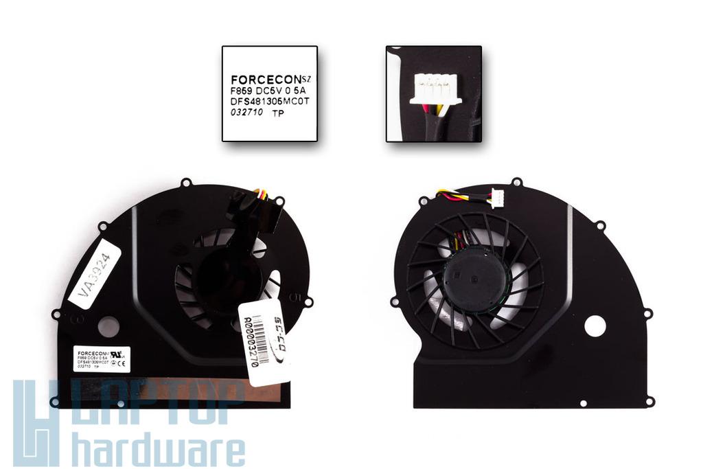 Acer Travelmate 6293 Gyári Új laptop hűtő ventilátor 23.TQP0N.002 Forcecon