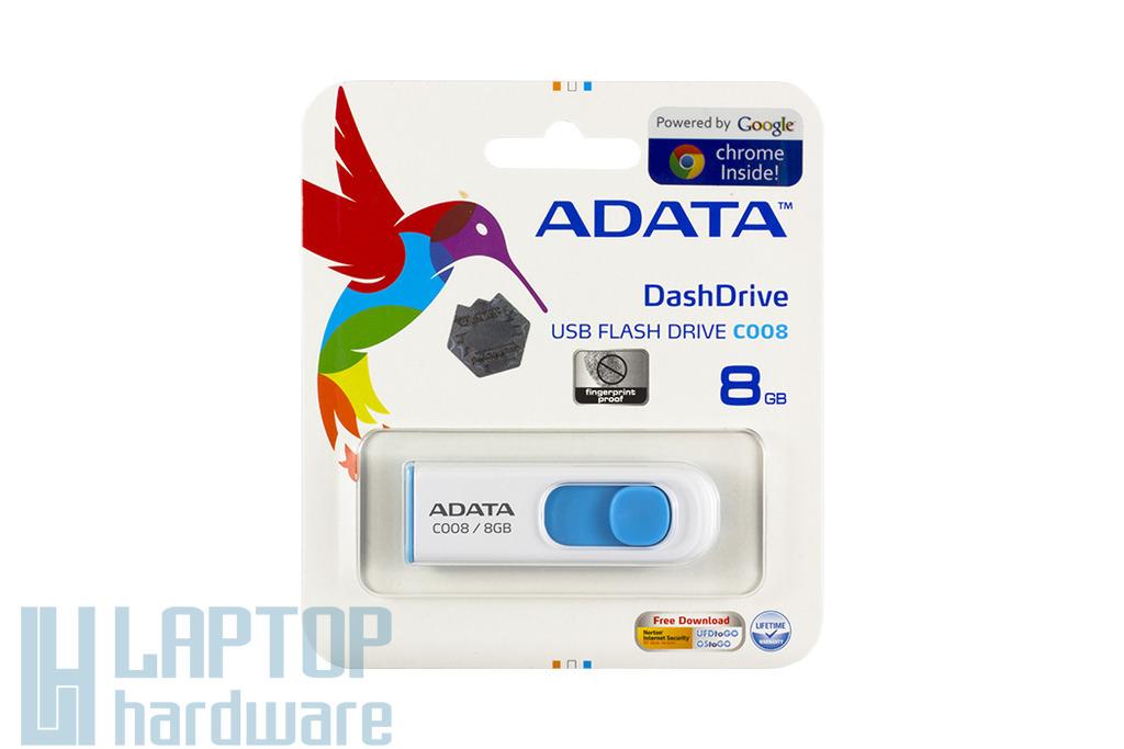 ADATA 8GB kék-fehér pendrive (AC008-8G-RWE)
