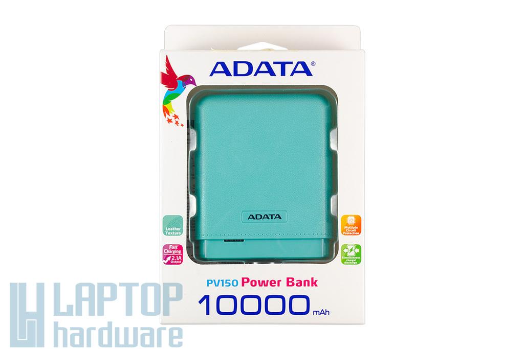 Adata kék Power Bank 10000mAh tablet, telefon akku/akkumulátor töltő, akku/akkumulátor bank, PV150