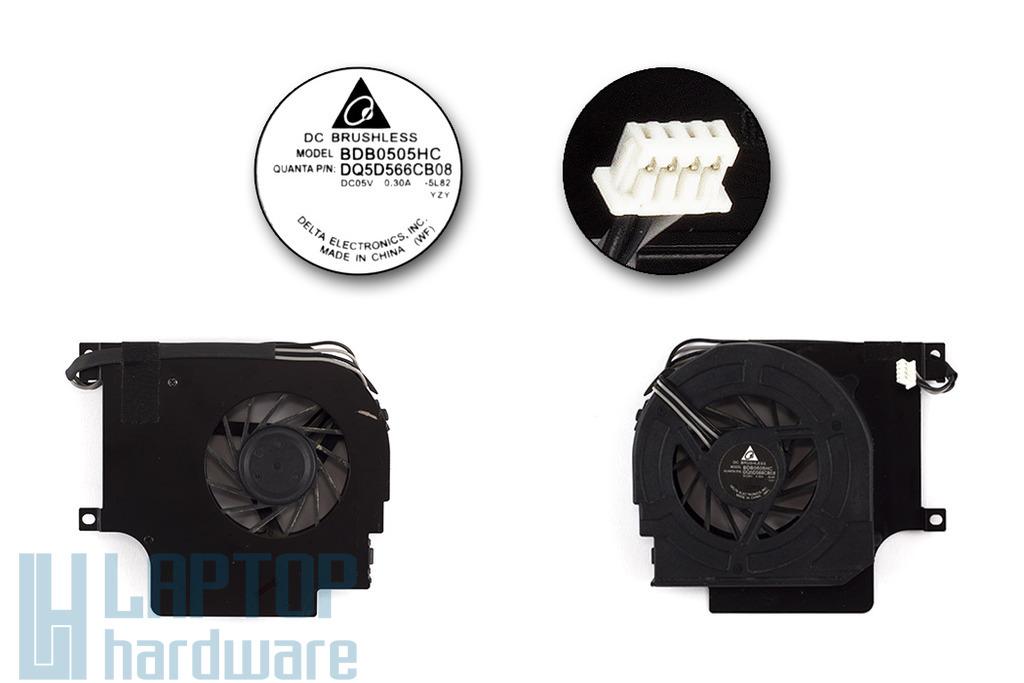 Advent 7023, 7111, 7205, 7209, Philips Freevents X54, X58 használt laptop hűtő ventilátor (BDB0505HC, DQ5D566CB08)