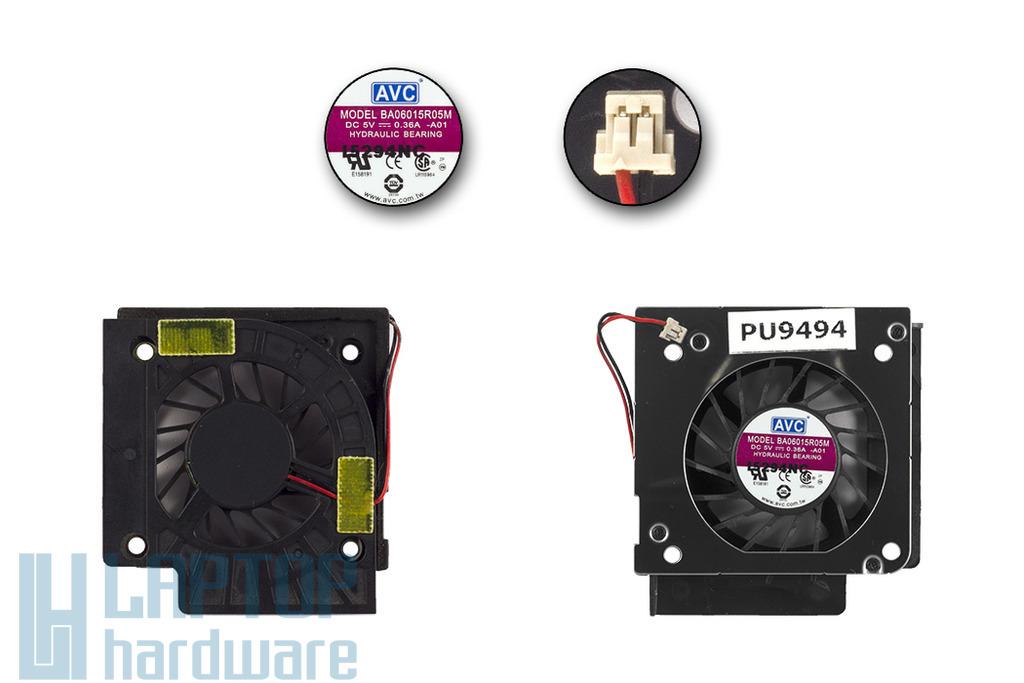 Advent 7101 használt laptop hűtő ventilátor (BA06015R05M)