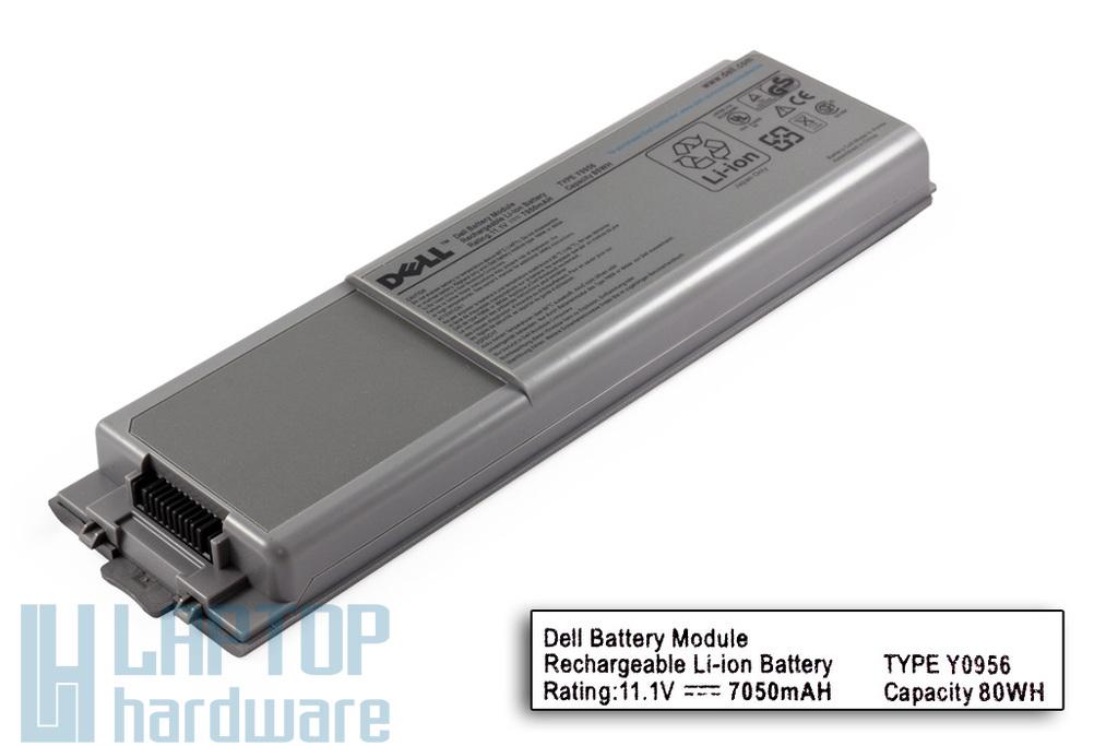 Dell Latitude D800, Inspiron 8500, 8600 gyári új 9 cellás laptop akku/akkumulátor (8N544)