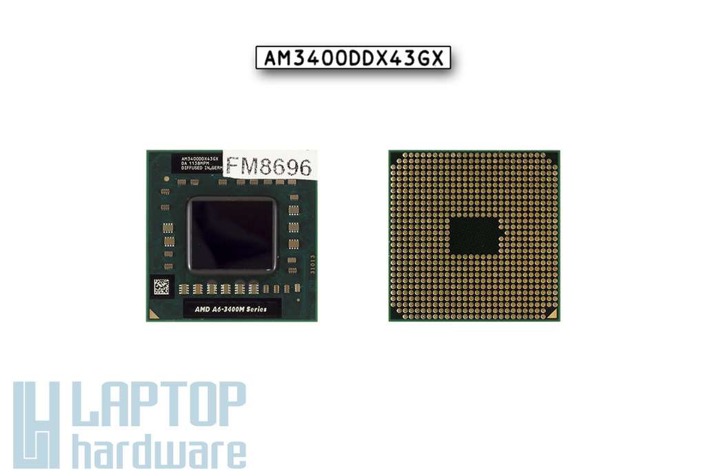 AMD A6-3400M APU használt laptop processzor