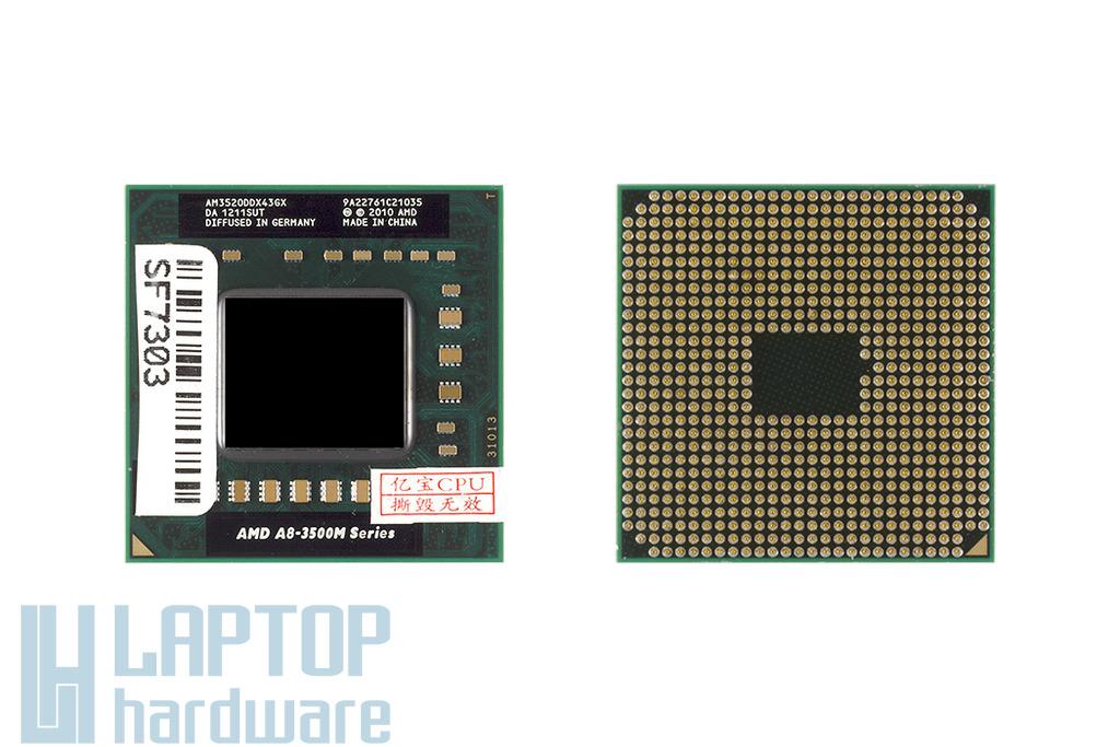 AMD A8-3520M 1,6GHz (2.5GHz Turbo) APU új laptop processzor