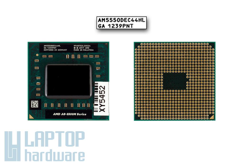 AMD A8-5550M 2,1GHz (3,1GHz Turbo) APU gyári új laptop processzor (AM5550DEC44HL)