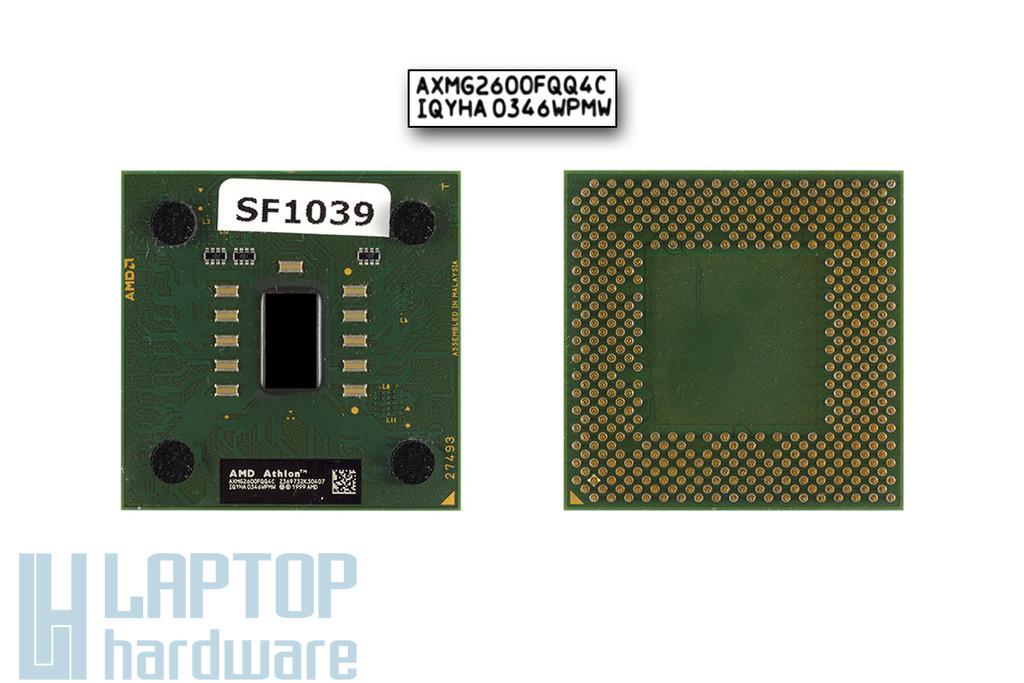 AMD Athlon 2600+ 2000MHz használt laptop CPU, AXMG2600FQQ4C