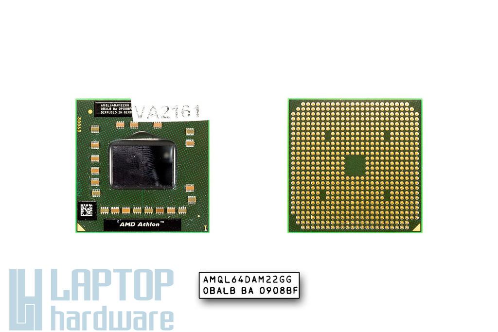 AMD Athlon 64 X2 QL-64 2100MHz használt laptop CPU (AMQL64DAM22GG)