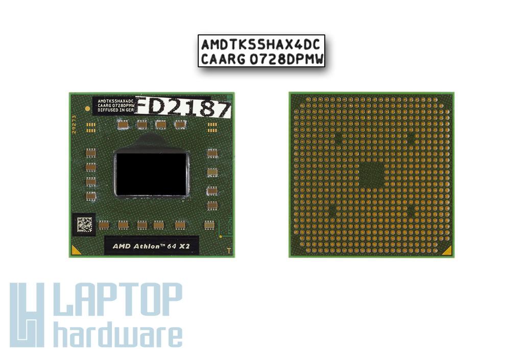 AMD Athlon 64 X2 TK-55 (rev. G1, 31W TDP) 1800MHz használt laptop CPU