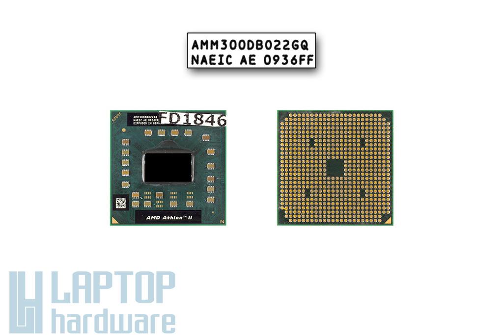 AMD Athlon II M300 2000MHz használt laptop CPU (AMM300DBO22GQ)
