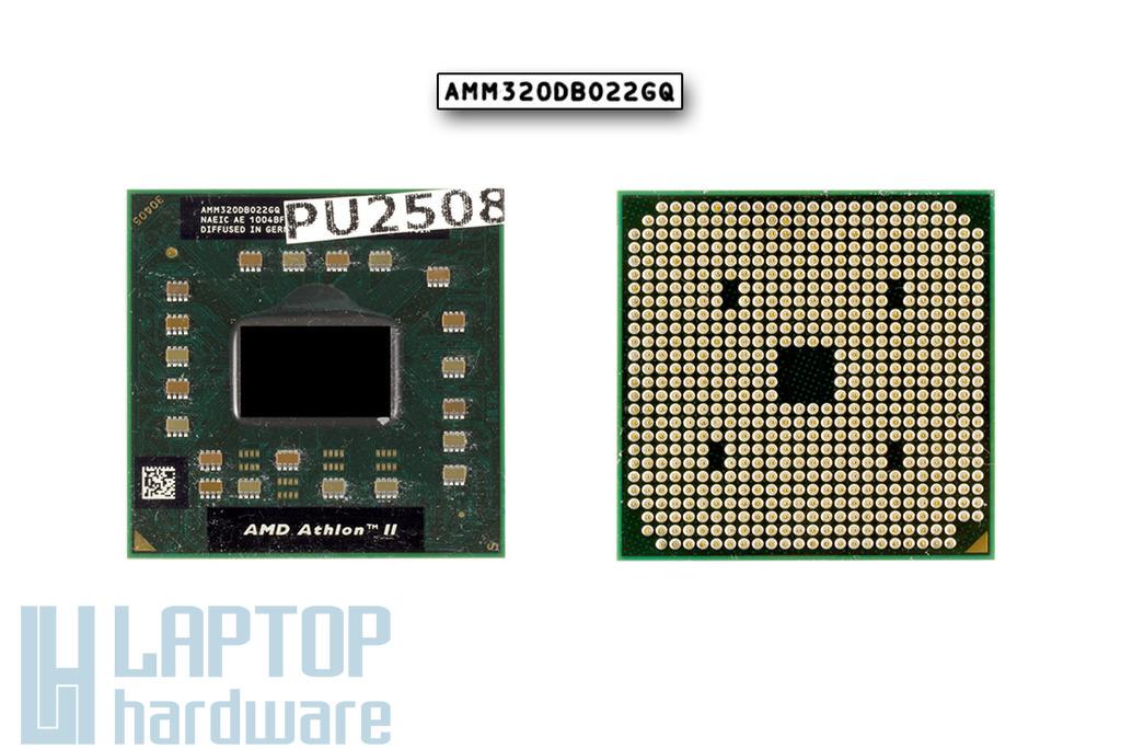 AMD Athlon II M320 2100MHz használt laptop CPU (AMM320DBO22GQ)