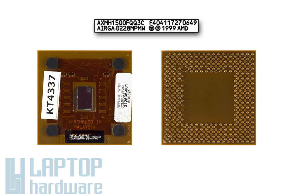 AMD Athlon XP-M 1500+ 1333MHz használt laptop CPU, Socket A
