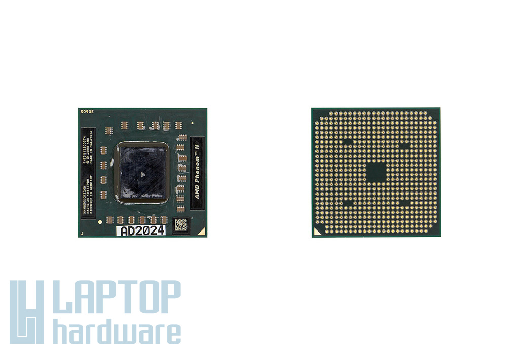 AMD Phenom II Triple-Core Mobile N850 2.2GHz (35W TDP) használt laptop processzor (HMN850DCR32GM)
