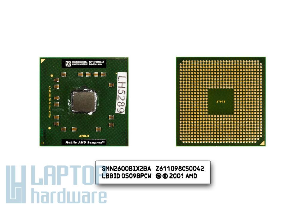 AMD Sempron 2600+ 1600MHz használt laptop CPU
