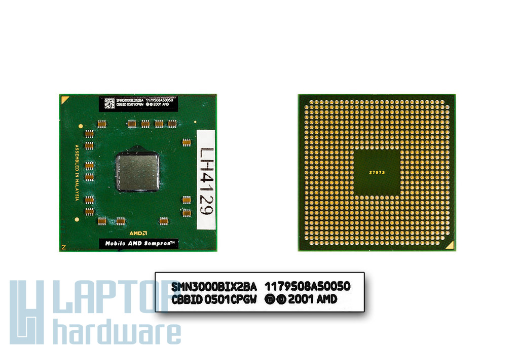 AMD Sempron 3000+ 1800MHz használt laptop CPU