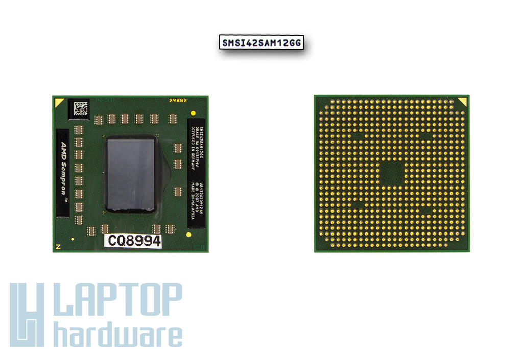AMD Sempron SI-42 2.1GHz használt laptop CPU (SMSI42SAM12GG)