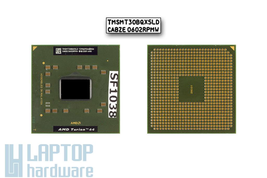 AMD Turion 64 MT-30 1600MHz használt laptop CPU