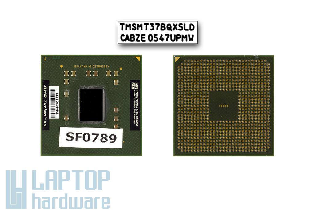 AMD Turion 64 MT-37 2000MHz használt laptop CPU (TMSMT37BQX5LD)