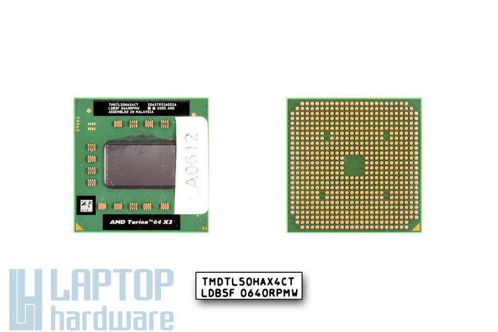 AMD Turion 64 X2 TL-50 1600MHz használt laptop CPU