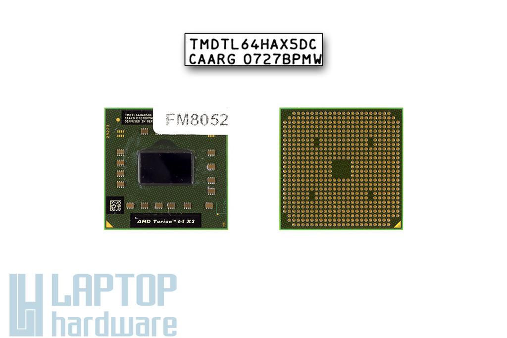 AMD Turion 64 X2 TL-62 2100MHz használt laptop CPU (TMDTL62HAX5DM)