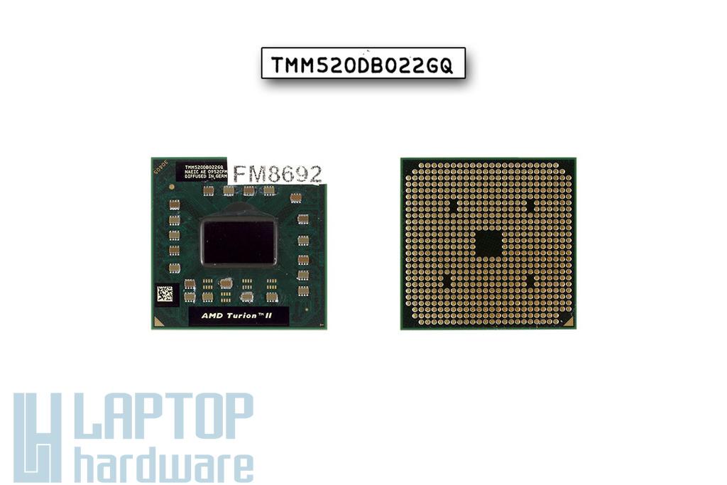 AMD Turion II M520 2300MHz használt laptop CPU