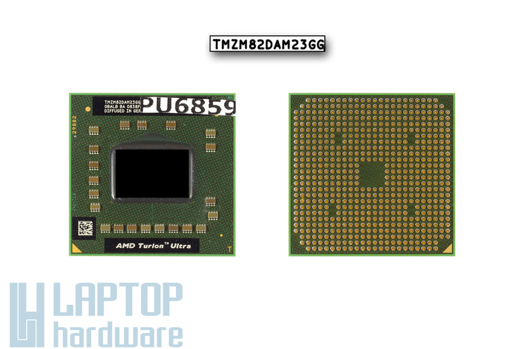 AMD Turion X2 Ultra Dual-Core ZM-82 2200MHz használt laptop CPU(TDP: 35W)