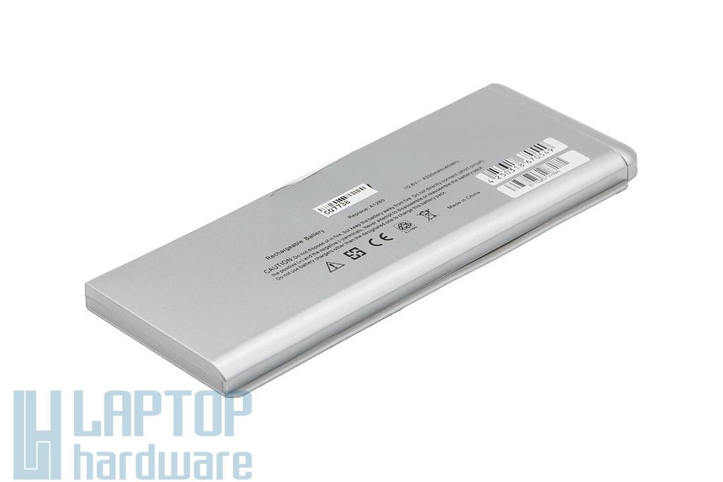 Apple 13.3 inch MacBook Aluminum Unibody helyettesítő új 6 cellás laptop akku/akkumulátor  A1280, A1278