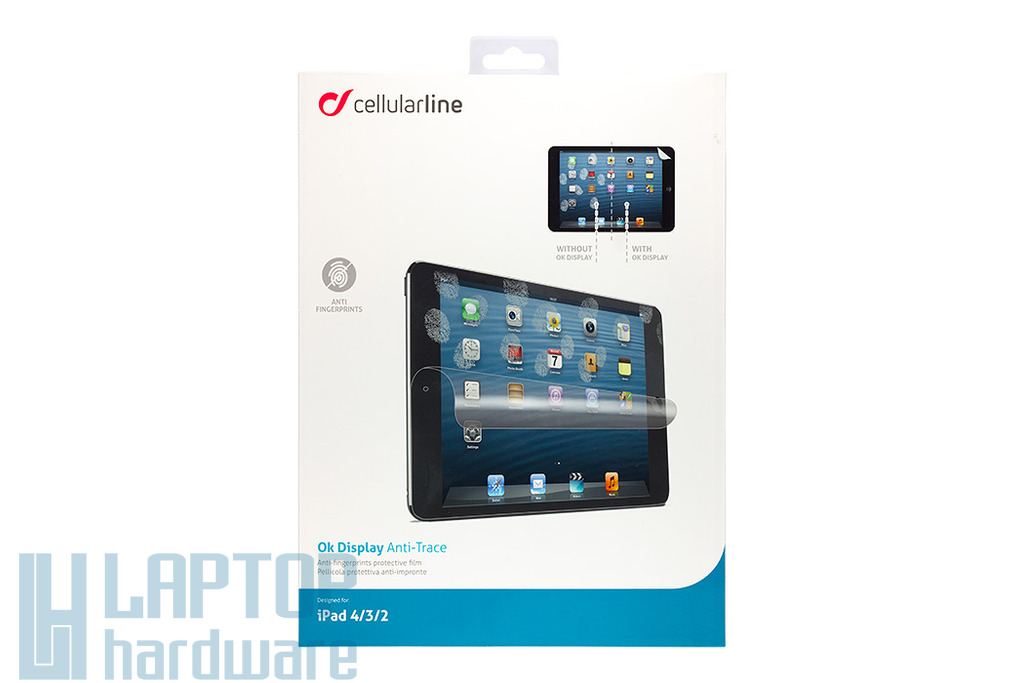 Apple iPad 2, 3, 4 kijelző védő fólia (SPULTAIPAD3)