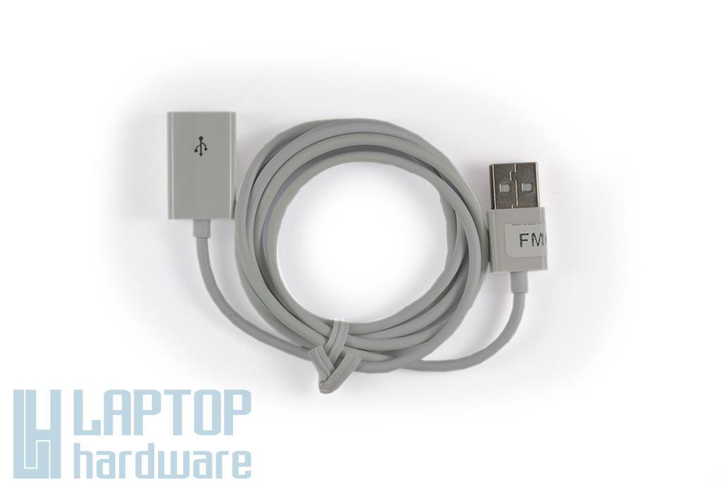 Apple Iphone 4, 4S, 5, Ipod Touch 4G USB 2.0 Adat és töltő hosszabbító kábel