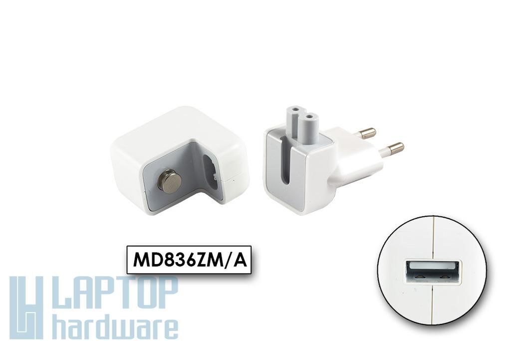 Apple iPhone, iPod, iPad 12W USB töltő (MD836ZM/A, A1401)