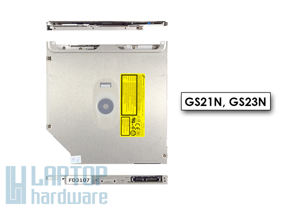 Apple MacBook 13, MacBook Pro 15 gyári új superdrive, 9.5mm ultra slim slot SATA, GS21N, GS23N