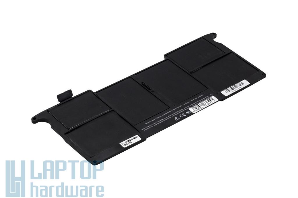 Apple MacBook Air 11'' (A1370, 2011) helyettesítő új 3 cellás laptop akku/akkumulátor (A1375, 020-6921-A)