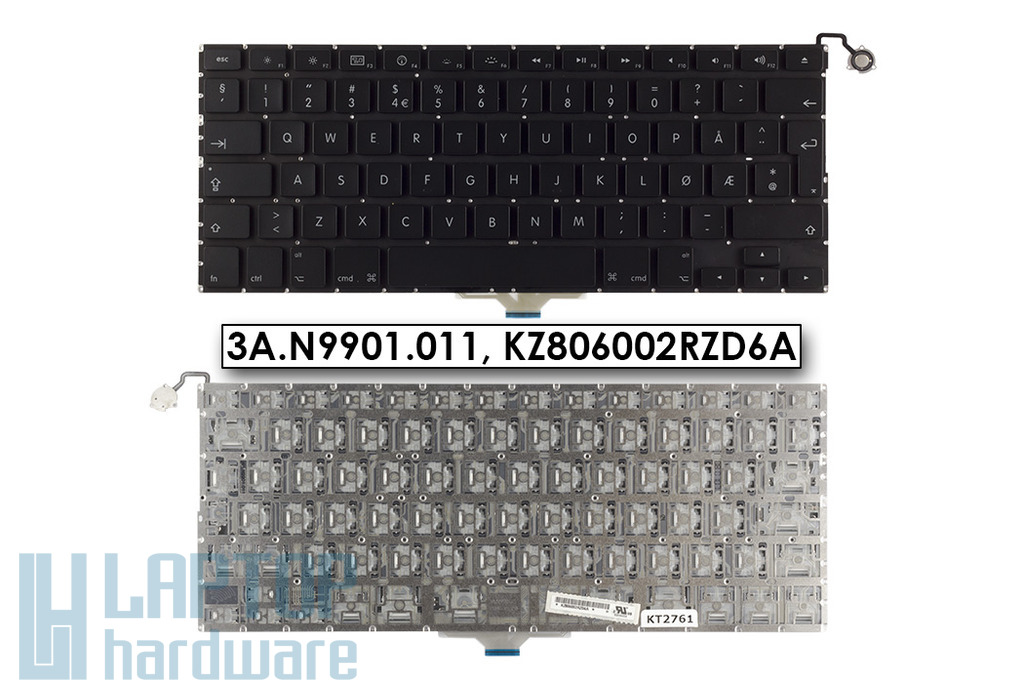 Apple MacBook Air A1237 gyári új norvég laptop billentyűzet (3A.N9901.011)