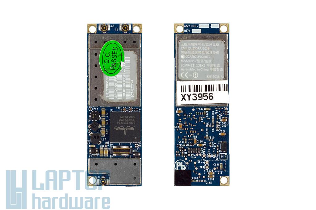 Apple MacBook Air A1304, A1237 laptophoz használt WiFi és Bluetooth kártya modul (BCM94321COEX2, BCM4321KFBG)