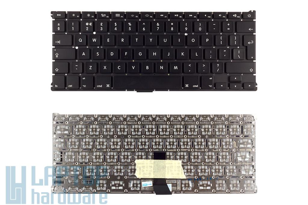 Apple MacBook Air A1369, A1466 gyári új fekete UK angol billentyűzet
