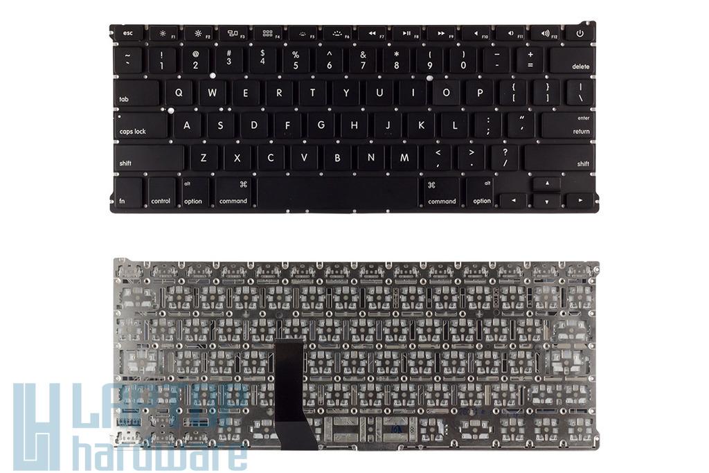 Apple MacBook Air A1369, A1466 gyári új fekete US angol billentyűzet
