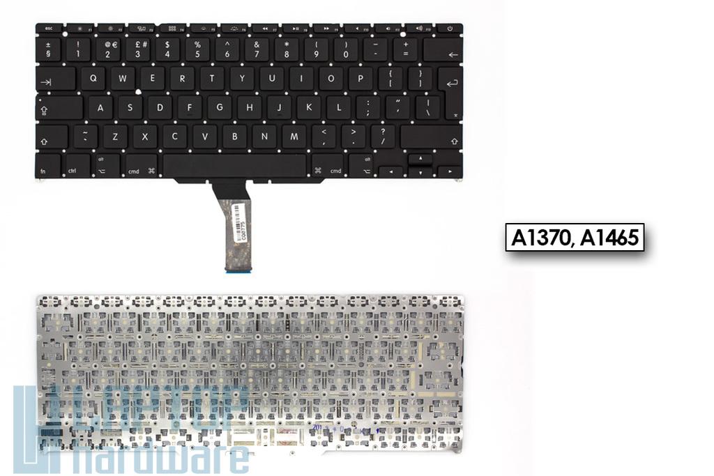 Apple MacBook Air A1370, A1465 (11'', 2011-2012) gyári új fekete UK angol laptop billentyűzet