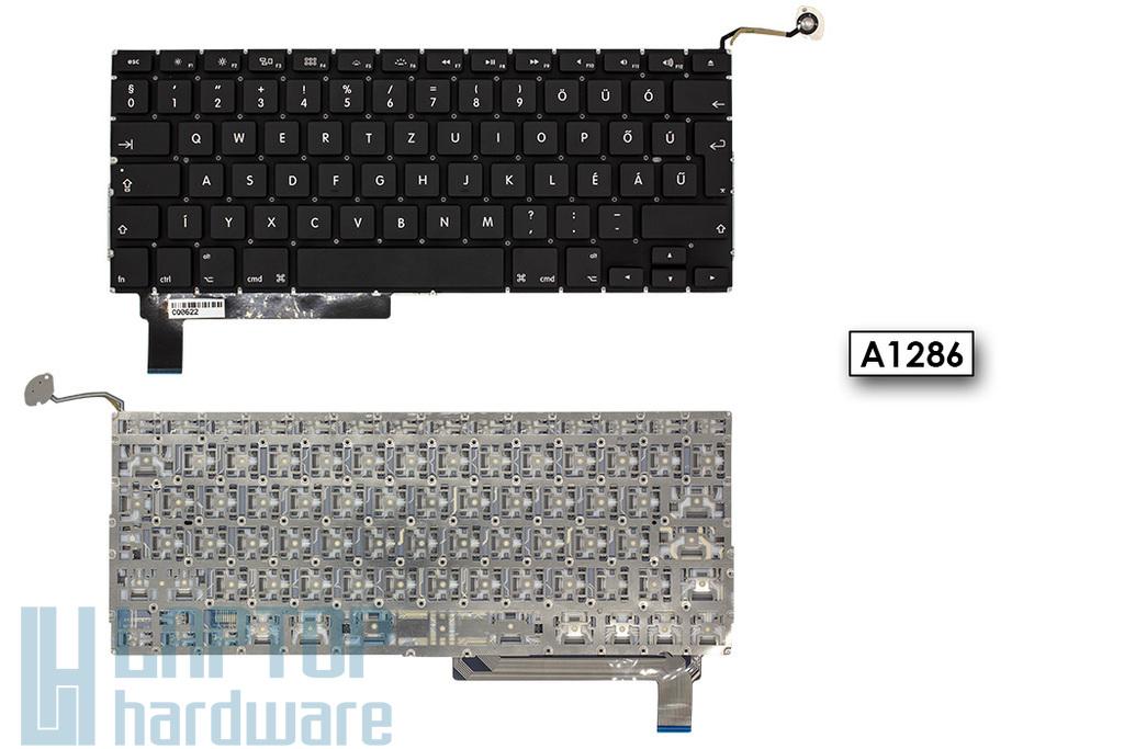 Apple MacBook Pro 15 A1286 (2008, 2009, 2010) gyári új magyar billentyűzet