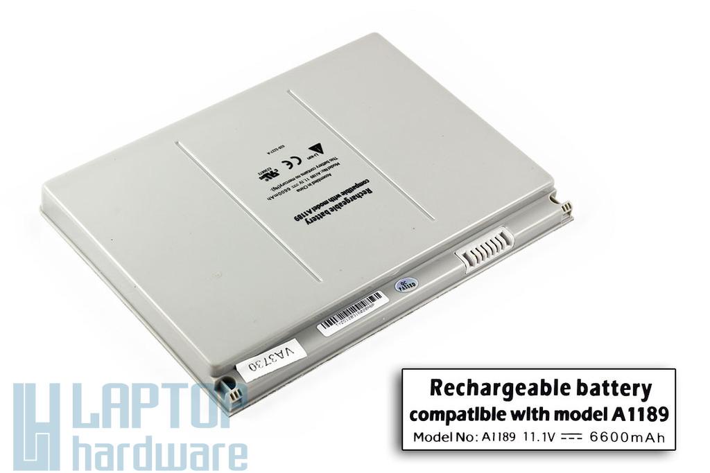 Apple MacBook Pro 17'' helyettesítő új laptop akku/akkumulátor  A1189