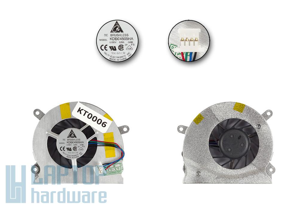 Apple MacBook Pro A1150 gyári új jobb oldali hűtő ventilátor, KDB04505HA