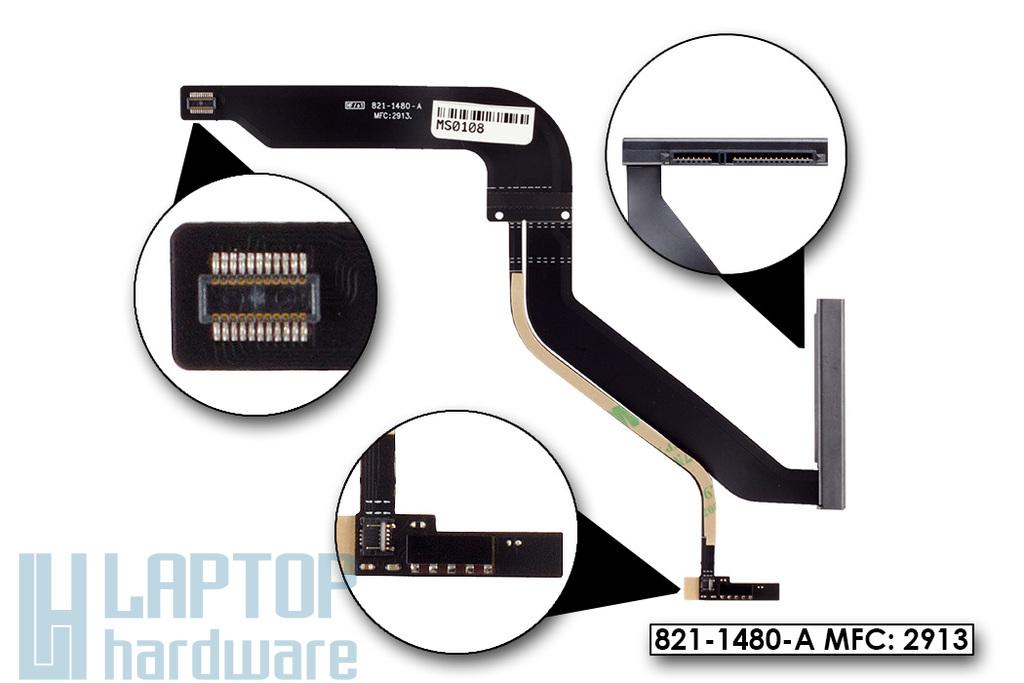 """Apple MacBook Pro Unibody 13"""" A1278 (2012) gyári új HDD kábel (821-1480-A)"""
